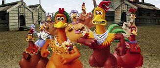Uciekające kurczaki
