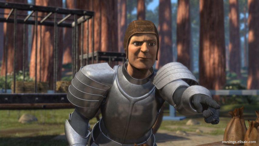 Kapitan straży Lorda Farquaada