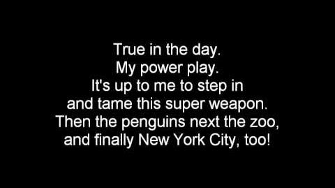 (English) The Penguins of Madagascar - Brand New Plan Lyrics