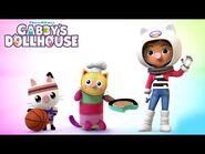 The Three Little Gabby Cats - GABBY'S DOLLHOUSE - NETFLIX
