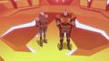 Commander Bogh with Lieutenant Lahn