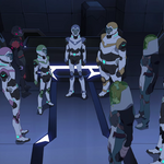 Team Voltron Flies from the Pirates' Ship..png