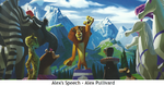 The Art of Madagascar 3 - Alex's Speech, Alex Pullivard
