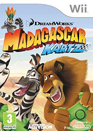 Madagascar Kartz for Wii game cover.jpg