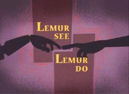 Lemur See, Lemur Do title.jpg