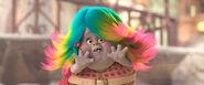 Bridget with rainbow hair