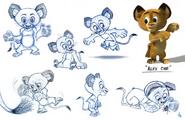 Baby alex sheet animation