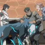 Keith, Allura, Coran, Commander Iverson and Cosmo.jpg