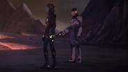 Shiro and Acxa face Zethrid