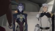 Shiro and Acxa (S8E5)