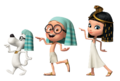 Mr. Peabody and Sherman Egypt walk img2