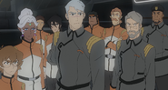 Team Voltron and Officers of Galaxy Garrison