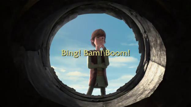 Bing! Bam! Boom!