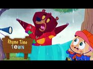 The Snorey Roary Rain Monster - RHYME TIME TOWN - NETFLIX