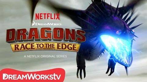 An Electrifying Battle DRAGONS RACE TO THE EDGE