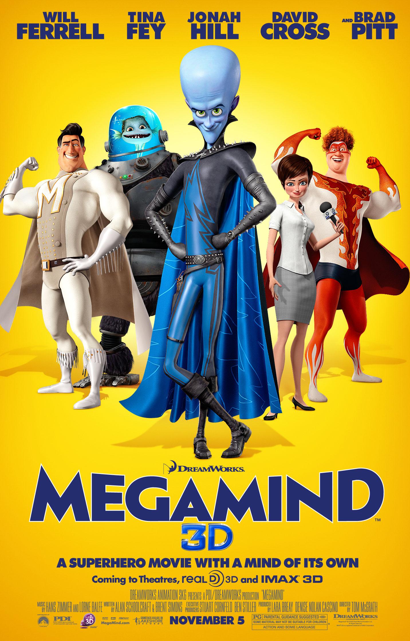 Megamind (film)/Gallery