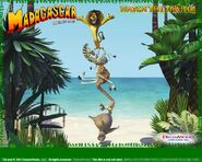 Dreamworks' Madagascar (2004) Official Site poster