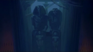 Statue's of Seti, Tuya, Ramses, and Moses
