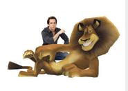 Ben Stiller posing with Alex