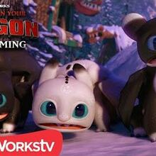 Surprise Visitors in New Berk HOW TO TRAIN YOUR DRAGON - HOMECOMING