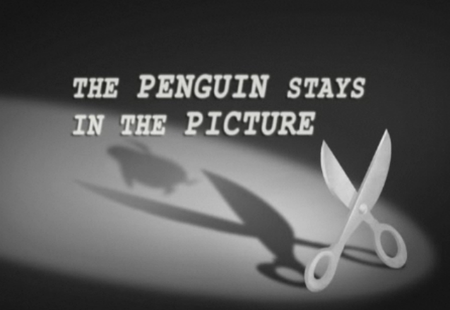 The Penguin Stays In The Picture