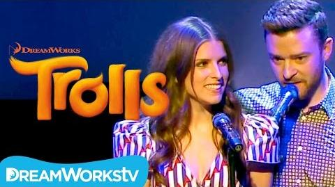 """Justin Timberlake and Anna Kendrick - """"True Colors"""" Live at Cannes TROLLS"""