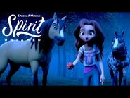 SPIRIT UNTAMED - Lucky Meets Spirit's Herd -EXCLUSIVE CLIP-