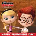 Mr. Peabody and Sherman Sherman and Penny Peterson Happy Friendship Day