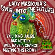 Lady Masikura's Swirl Future poster