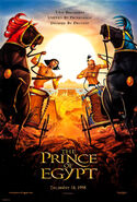 Prince of Egypt Chariot Poster