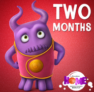 Home-Captain Smek-Two Months-Poster