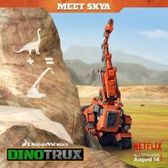 Skya's poster