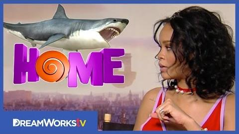 Rihanna & Jim Parsons Diving with Sharks HOME