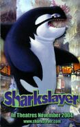 Sharkslayer (2004) - Vincent Pastore as Willie the Killer Whale - Card