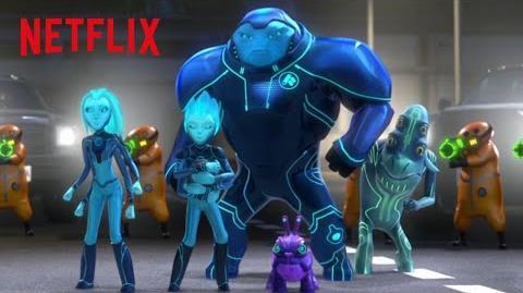 Officer Kubritz 3Below DreamWorks Tales of Arcadia Netflix