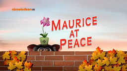 Maurice at Peace title.png