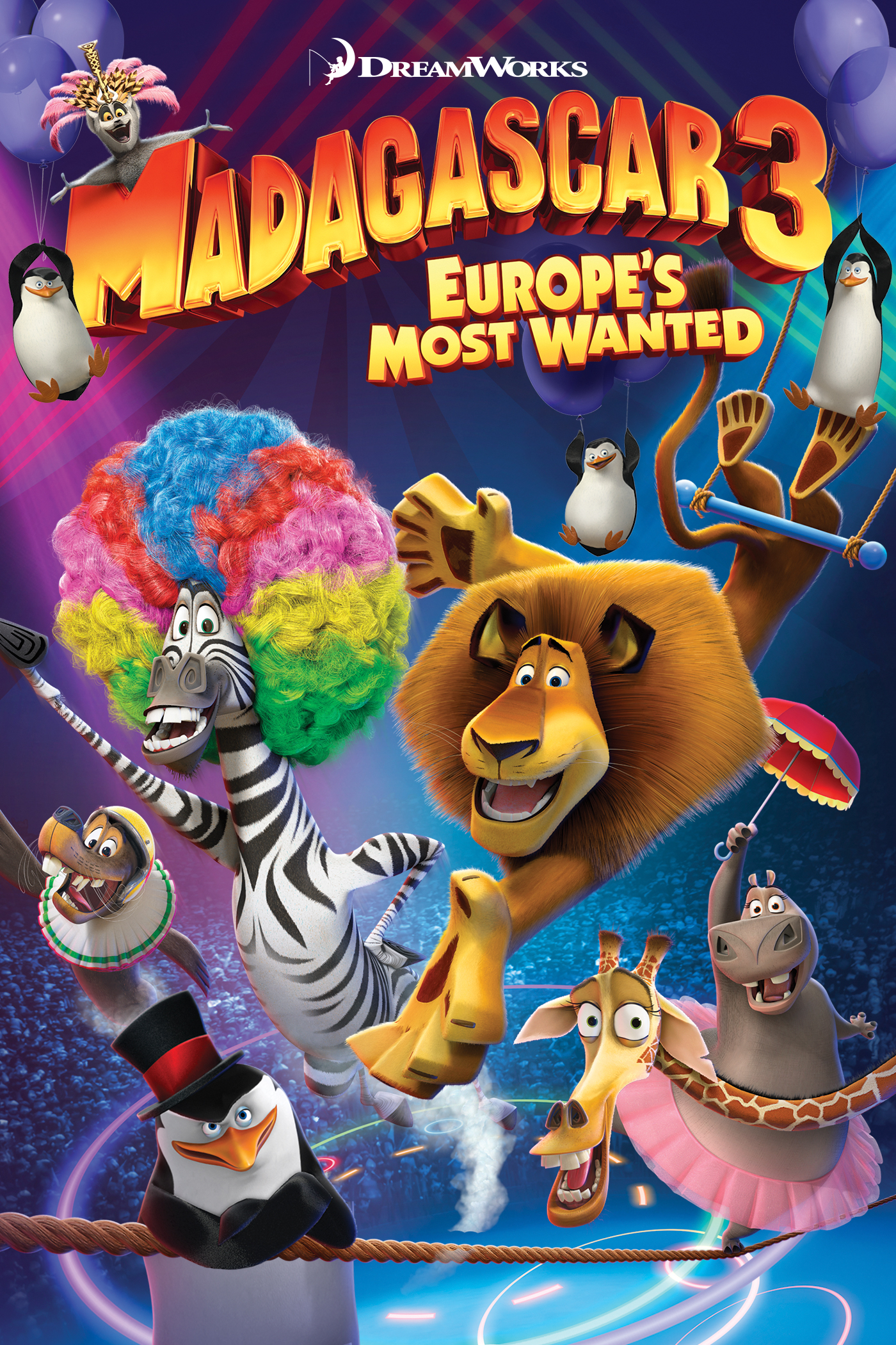 Madagascar 3: Europe's Most Wanted Home Video