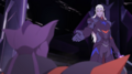 Lotor lend a hand to Throk
