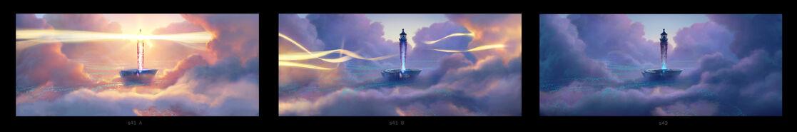 BOO lighthouse progression