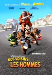 12 Over The Hedge 2006 French Poster