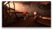 Sherman and Penny Peterson are exploring the workshop
