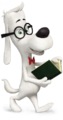 Mr. Peabody has a book