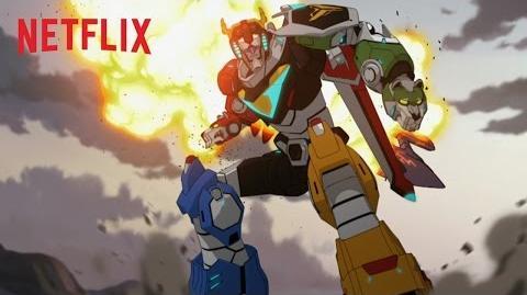Voltron O Defensor Lendário - Trailer Oficial - Netflix HD