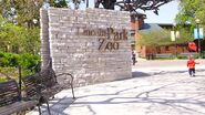 Lincoln Park Zoo-entrance