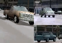 Several Shots From The Rio Gameplay Trailer Showing The Original Pickup Design - Notice More Resemblance To The Chevy C10 As Opposed To The Ramcharger.png