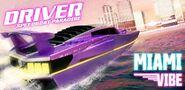 Driver speedboat Paradise art miami vibe