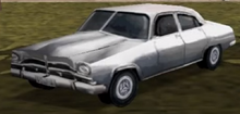 The Demo Version Of The 'Styleline' In The Pre-Rework Silver Color Scheme - Notice The Glitched Front-End - Interestingly The Car Spawns In Traffic.png