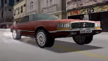 A Screenshot From One Of The First Driver 2 Trailers Showing Rio Gameplay - Notice The Different Grille And Signal Lights Below The Headlights.png