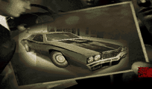 Thumbnail Showing The Early Version Of The Chicago Secret Car - Notice The Different Front-End And Darker Body Color Which May Suggest The Vehicle May Have Been A Darker Color.png