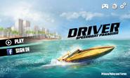 Driver speedboat paradise menu